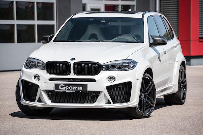 經G-Power操刀下的BMW X5 M動力來到了750p的恐怖實力!