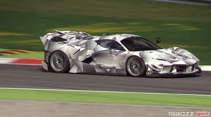 看起來比你想像的還瘋狂 Ferrari FXX K Evoluzione現身Monza賽道