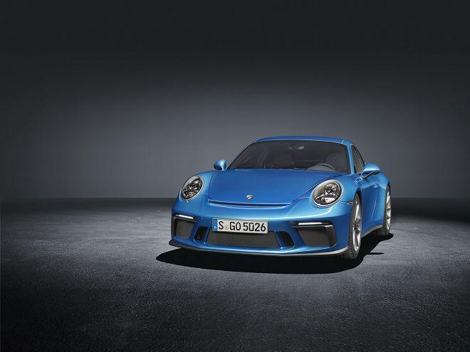 極簡設計!手排版Porsche 911 GT3專屬的Touring Package套件