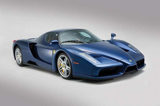 $240萬美元的稀有藍色車色Ferrari Enzo,有興趣嗎?