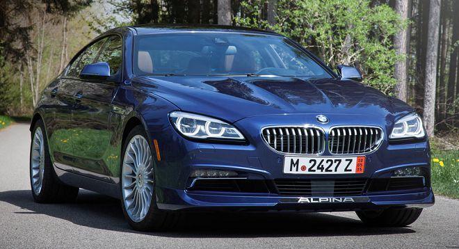 BMW推出一輛One-Off的ALPINA B6 xDrive Gran Coupe BMW CCA Edition紀念車款