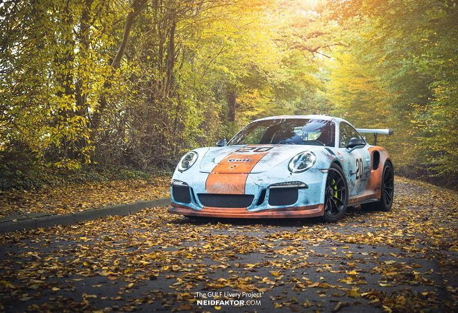 Porsche 911 GT3 RS刷舊車體包膜,有興趣嗎?