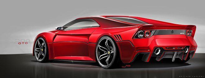 以現代設計元素與概念詮釋出的Ferrari 288 GTO會是什麼樣子呢?