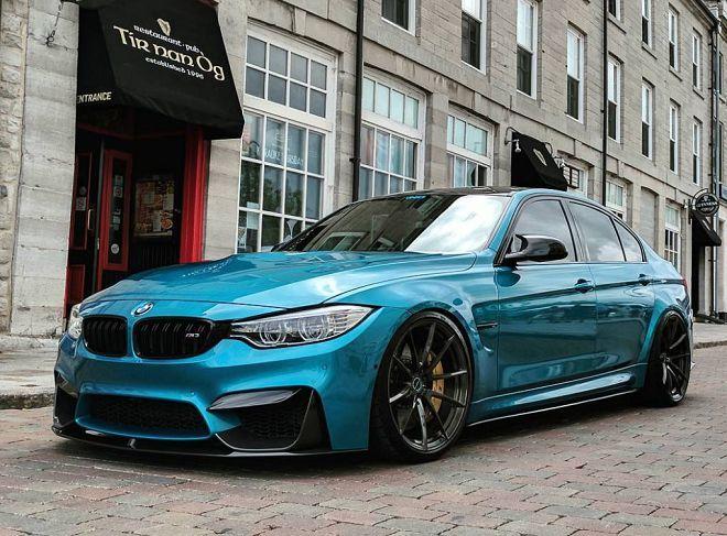 來自加拿大的BMW M3以水藍色車漆和碳纖維部件做出水準極高的改裝搭配