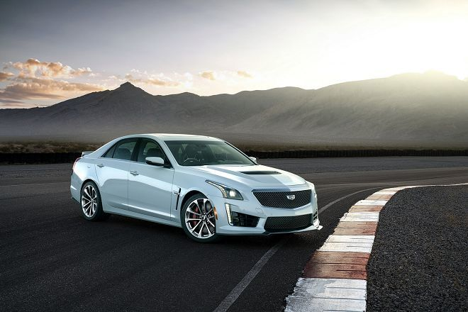 Cadillac將以CTS-V Glacier Metallic Edition來慶祝該廠的115週年