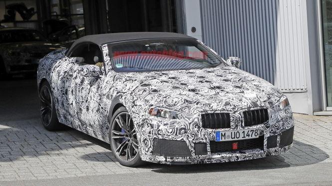 BMW頂級敞篷旗艦 M8 Convertible曝光!