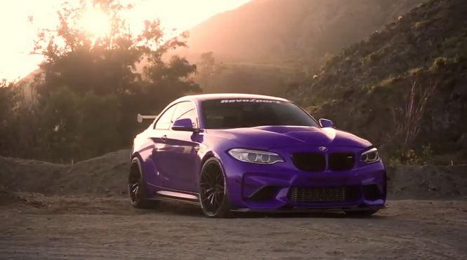 剽悍小辣椒 RevoZport BMW M2變身紫色殺手