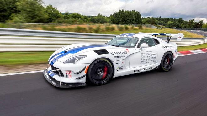 Dodge Viper ACR跑出7分03.45秒新綠色地獄單圏紀錄!!!