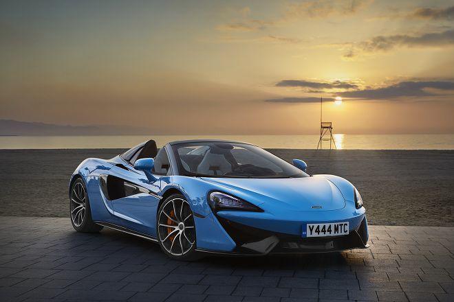 McLaren一次釋出129張570S Spider的美圖讓車迷看個過癮