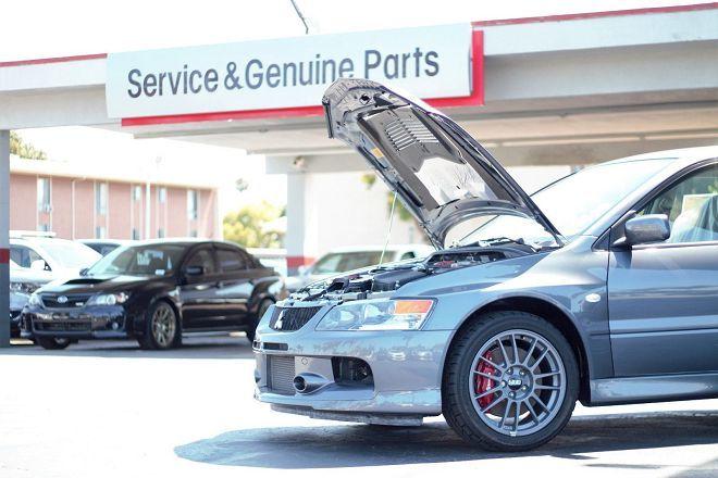 僅行駛15公里的Mitsubishi Lancer Evolution VIII MR在拍賣網站上已喊到300萬台幣以上