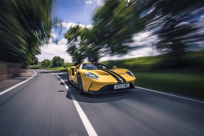 Ford GT每小時所產生的資料量高達100 GB!