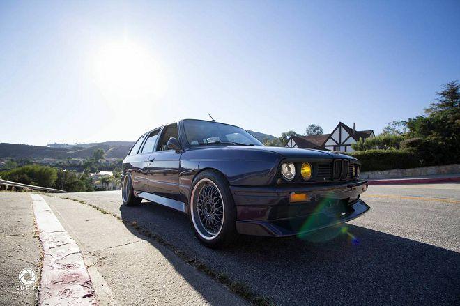 E30 BMW M3旅行車的外表+E46 M3的動力單元,聽起來很誘人的組合