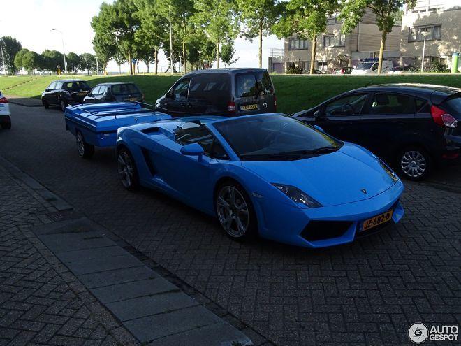 這是一種能讓你開著Lamborghini Gallardo出遊的方法