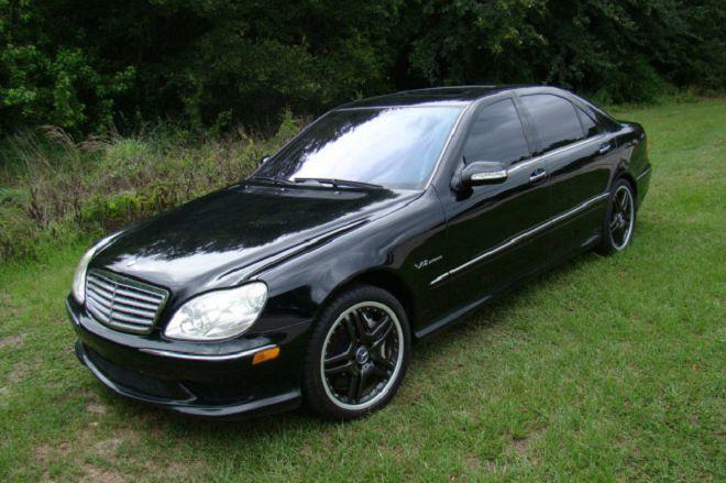 美國一輛中古的Mercedes-Benz S65 AMG拍賣中,僅要價不到$25K美元