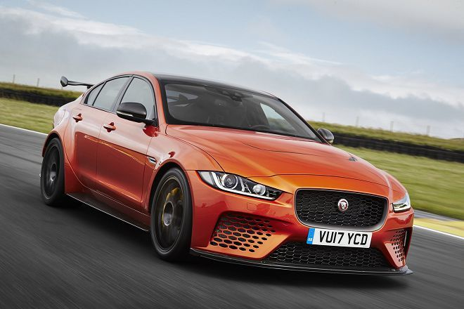 Jaguar XE SV Project 8在英國Goodwood掀起一陣震撼