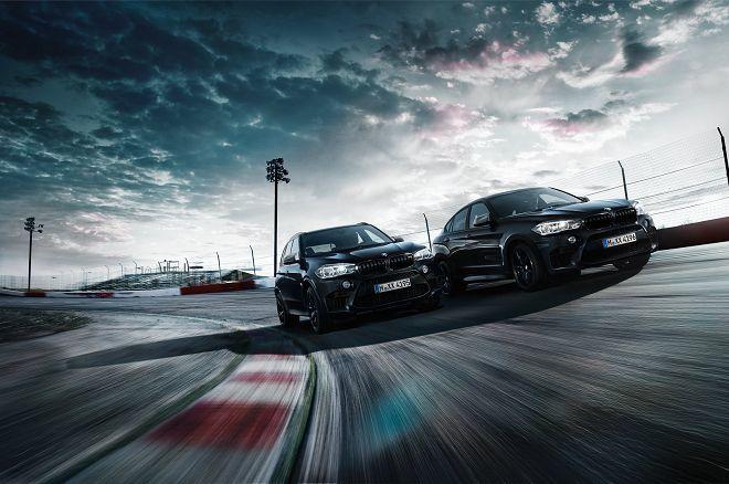BMW揭露新X5 M和X6 M的Black Fire Edition限定版車型