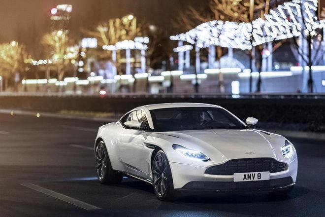 裝上Mercedes-AMG V8 Biturbo引擎 Aston Martin揭示DB11 V8車型