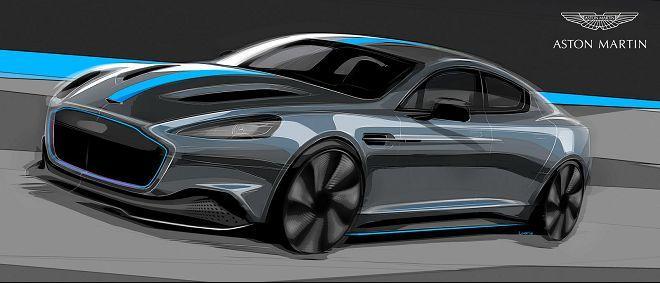 純電動力的Aston Martin RapidE確定將在2019年投入量產