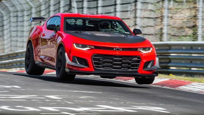 Chevrolet公布Camaro ZL1 1LE Nurburgring北環成績7分16秒!