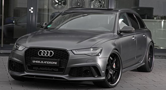 Wheelsandmore將Audi RS6和RS7做了動力強化手術,現在它們的馬力輸出總和是1,640PS!