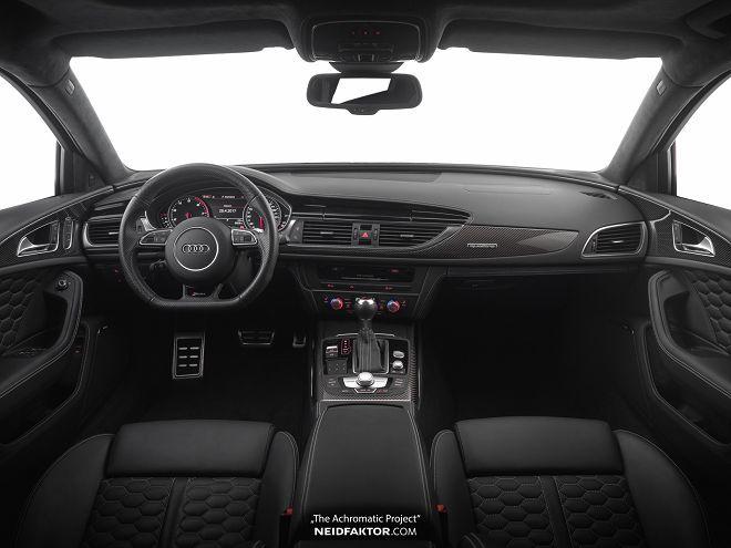 Neidfaktor的Audi RS6內裝讓這輛車搖身成為豪華的超跑殺手