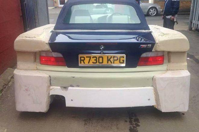 這輛E36 BMW M3的外觀改裝肯定讓你過目不忘