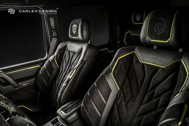 Brabus G500 4x4²獲得由Carlex Design悉心打造的內裝之後,變成了一部內外兼具的精品