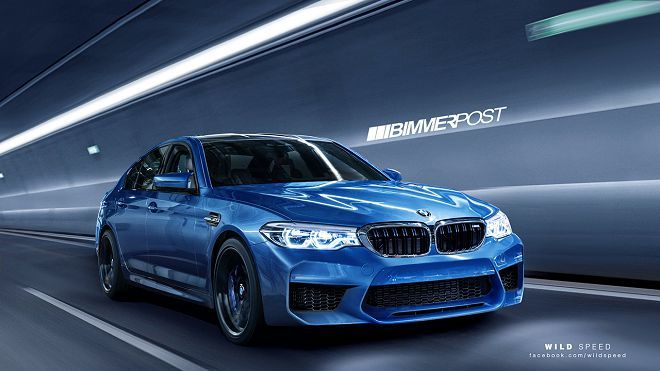 F90 BMW M5確認將擁有超過600匹大關的馬力輸出!