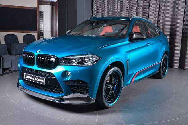 這輛BMW X6M從裡到外的每處細節都在對M Performance致敬