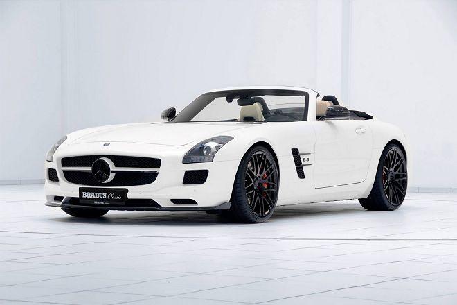 Brabus重新詮釋了經典的Mercedes-Benz SLS Roadster