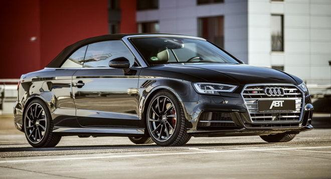 想改造Audi S3敞篷車 没問題 ABT讓你的S3 Cabrio變身RS3!!!