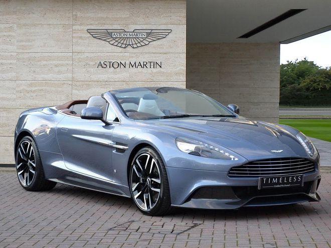 這輛單一打造的Aston Martin Vanquish Volante要價約900萬台幣