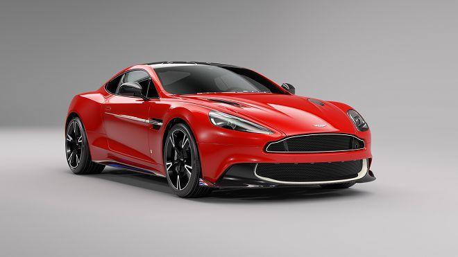 Aston Martin以Vanquish S推出了「Red Arrows Edition」限定版車型向英國皇家空軍特技機隊致敬