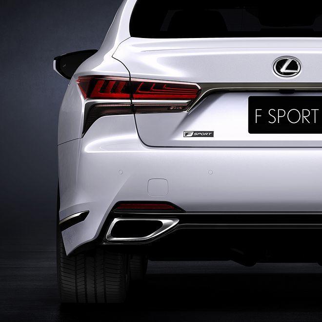 Lexus全新的LS 500 F Sport將準備在紐約車展上搶奪眾人的目光!