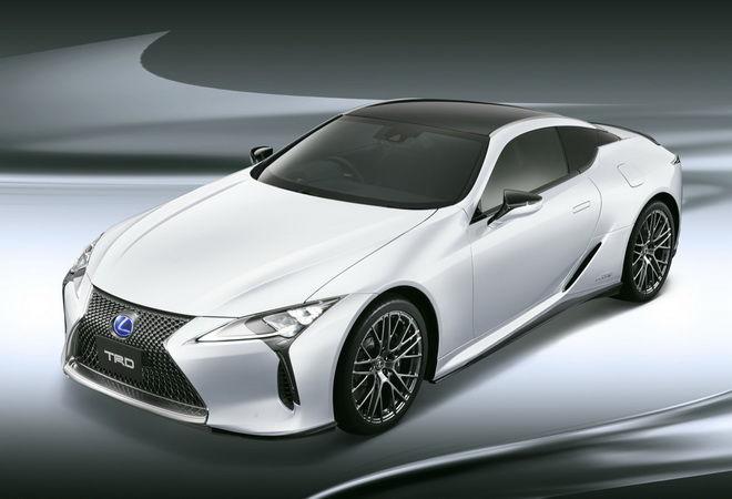 TRD設計 空力套件上身Lexus LC更顯精緻洗鍊