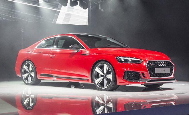 450馬力的V6 TFSI雙渦輪引擎加持!Audi在日內瓦車展上首發全新的RS5!