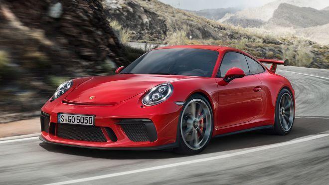 2018年式Porsche 911 GT3亮點:「500馬力的4.0L引擎」與「六速手排」