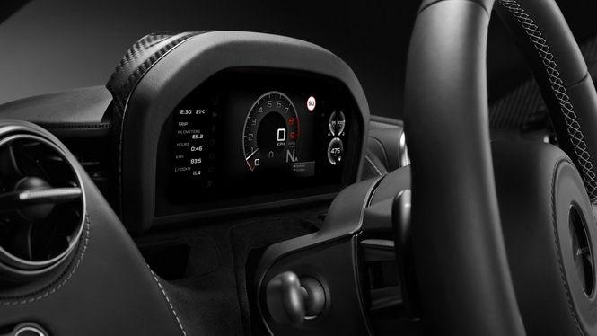 McLaren展示720S新儀表板 資訊多寡駕駛自己決定