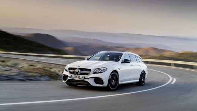 實用高性能房車 2018 Mercedes-AMG E63 S Estate適合時間觀念差的父母