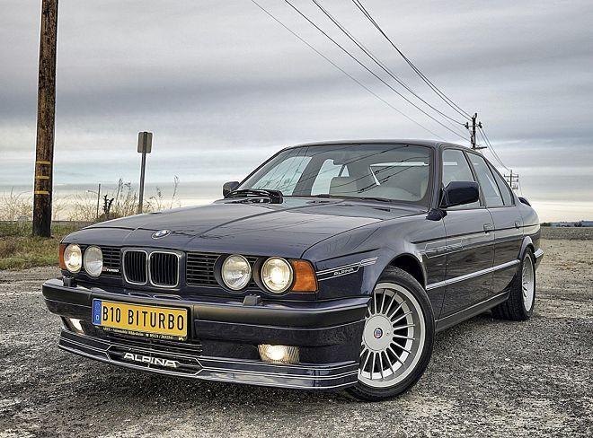 覺得新款Alpina 5系列過於昂貴嗎?何不考慮經典且便宜得多的1990 B10 Bi-Turbo呢?