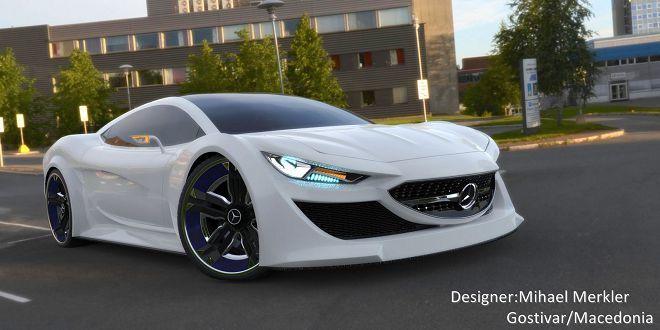 這部純電超跑的設計雖然不像Mercedes-Benz會做的車款,但看起來還是超炫!