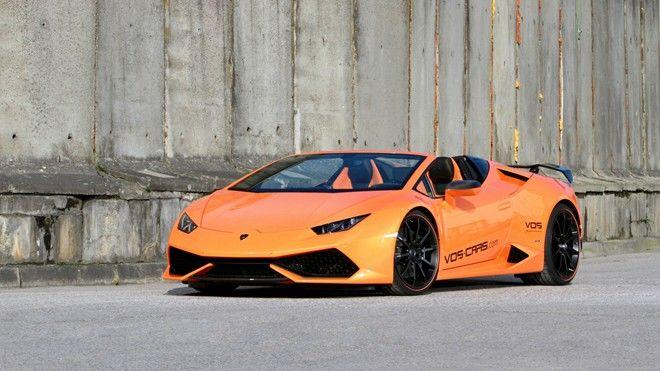 Vision of Speed用大量的碳纖維套件重新詮釋Lamborghini Huracan Spyder這部上空辣牛