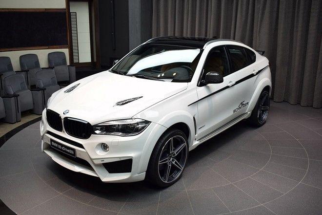 德國改裝老舖AC Schnitzer將BMW X6改造成目光吸收器