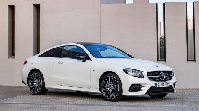 2018 Mercedes-Benz E-Class Coupe清晰圖釋出!加入了更多的豪華、造型、與設計