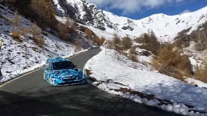 2017 Ford Fiesta WRC在義大利阿爾卑斯山脈放肆撒野!