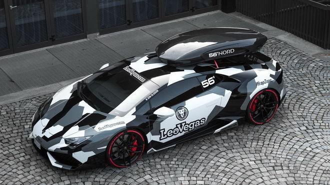 歐洲最速Lamborghini Huracan只不過是滑雪明星的貨車!