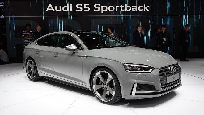 2016巴黎車展:Audi S5 Coupe/S5 Sportback動感現身