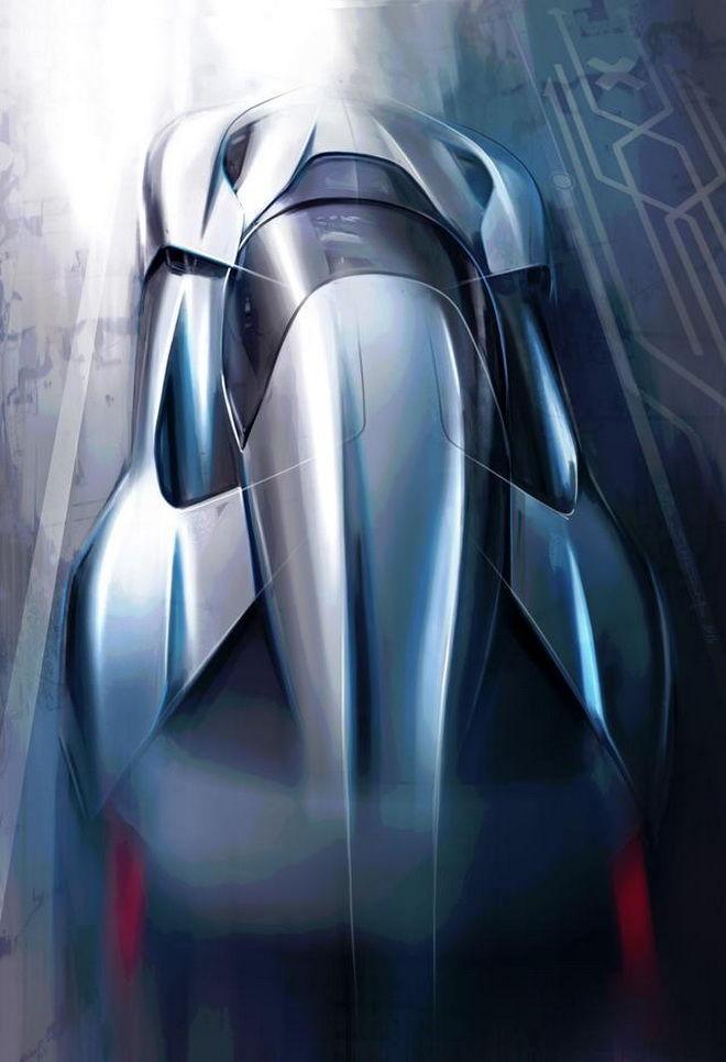 中國NextEV計劃推出1,360 HP全電動超級跑車 設計草圖亮相