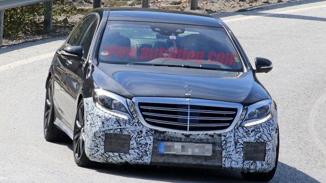 小改款Mercedes-Benz S63 AMG輕偽裝現身