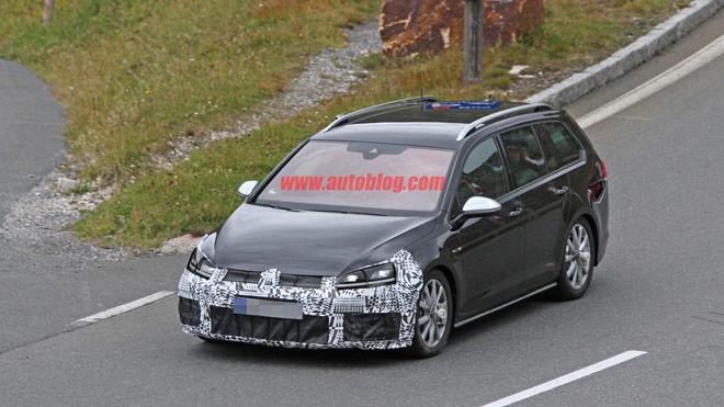 Volkswagen Golf R旅行版將有更囂張的車頭?